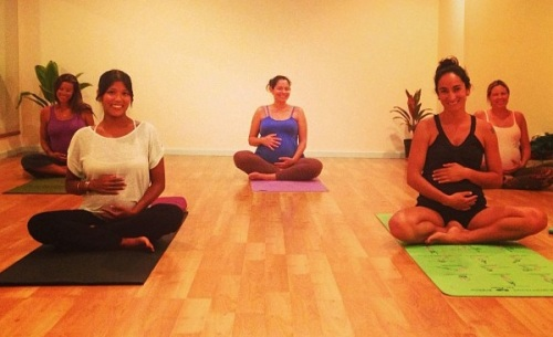 Prenatal Yoga at Noelani Studios
